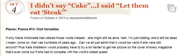 cake or steak
